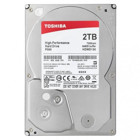 HDD 2TB Toshiba P300 64mb